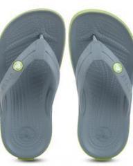 45433c747474 Crocs Crocband X GREY FLIP FLOPS for Men online in India at Best ...