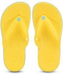 17656a2d544 Crocs Crocband Yellow Flip Flops for women - Get stylish shoes for ...