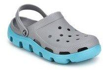 e0acf19eb Crocs Duet Sport Grey Clogs for Men online in India at Best price on ...