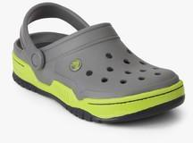 3617acdf65d Crocs Front Court Grey Clogs for Men online in India at Best price ...