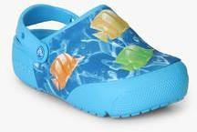aff37bd64851d1 Crocs Funlab Lights Blue Clog Sandals for girls in India - Buy at ...