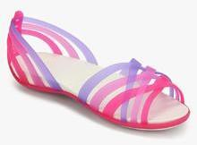 b58eeb9a9f1fc Crocs Huarache Pink Sandals for women - Get stylish shoes for Every ...