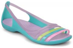 228d89d41e97 Crocs Isabella Huarache Multicoloured Sandals for women - Get ...