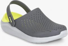 e8db0923f92e Crocs Literide Grey Clog Sandals for women - Get stylish shoes for ...