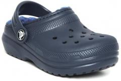 Crocs Navy Blue Synthetic Clogs girls