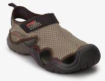 05230b5c89a2 Crocs Swiftwater Beige Sandals for Men online in India at Best price ...