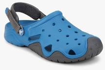17dde75be6cf Crocs Swiftwater Blue Clogs for Men online in India at Best price on ...