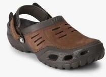 c4155dbea Crocs Yukon Sport Brown Clogs for Men online in India at Best price ...