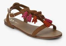 5663bcdc54c43 Dune Lawla Brown Sandals for women - Get stylish shoes for Every ...
