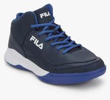 99531195 Fila Gunner Navy Blue Basketball Shoes men