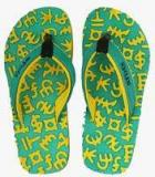 Frestol Green Flip Flops Girls