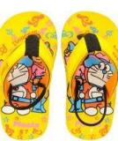 Frestol Yellow Flip Flops Girls