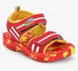 Happy Feet Magic Sandals Red