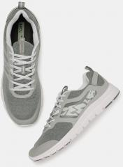 new product 632ce e4b83 HRX by Hrithik Roshan Men Grey Running Shoes