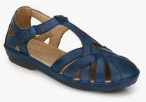 c05ad6eb686a Hush Puppies Cana Fishermen Blue Sandals for women - Get stylish ...