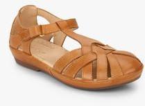 Hush Puppies Cana Fishermen Tan Sandals For Women Get Stylish