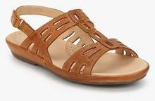 aa605e34d7e7 Hush Puppies Cana Tan Sandals for women - Get stylish shoes for ...