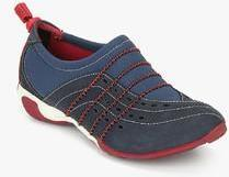 Hush Puppies Energize Navy Blue Casual Sneakers For Women Get