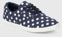for best Lara Karen Navy Blue Casual Sneakers Women price in India
