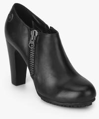cd1e3ca80da Lee Cooper Black Ankle Length Boots for women - Get stylish shoes ...