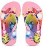 Liberty Footfun Pink Flip Flops Girls