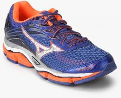 reputable site c17c6 76a8e Mizuno Wave Enigma 6 Blue Running Shoes women