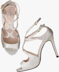 50e9b0e87dd Mode By Red Tape Gold Stilettos for women - Get stylish shoes for Every  Women Online in India 2019