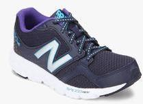 0996c9a5 New Balance 490V3 Navy Blue Running Shoes for women - Get stylish ...
