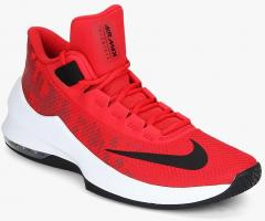 c1592ad9eb8 Nike Air Max Infuriate 2 Mid Red Basketball Shoes for Men online in India  at Best price on 26th March 2019