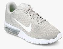 Nike Air Max Sequent 2 Grey Running Shoes for women Get stylish