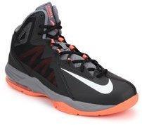 meet 9bcae a7963 Nike Air Max Stutter Step 2 Black Basketball Shoes men