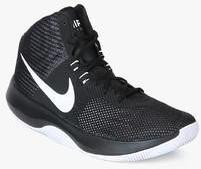 on sale a4cc1 efcc3 Nike Air Precision Black Basketball Shoes men