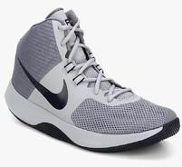 86fe8cc2d84f Nike Air Precision Grey Basketball Shoes for Men online in India at ...