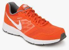 Nike Air Relentless 4 Msl Orange Running Shoes men