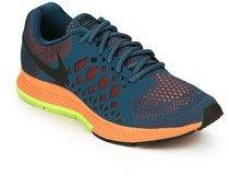 9e52a9ff4e8 Nike Air Zoom Pegasus 31 Blue Running Shoes for Men online in India ...