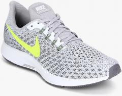 4aada23c87473 Nike Air Zoom Pegasus 35 Grey Running Shoes for women - Get stylish shoes  for Every Women Online in India 2019