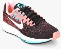 Nike Air Zoom Structure 20 Black Running Shoes for women - Get stylish shoes  for Every Women Online in India 2019  b66cdde8a