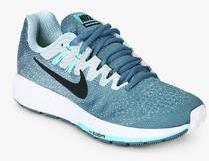 new concept 43a05 ca5d5 Nike Air Zoom Structure 20 Blue Running Shoes women