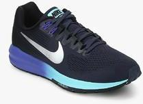 188f41f7c67c Nike Air Zoom Structure 21 Navy Blue Running Shoes for women - Get ...
