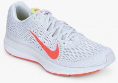 7b6c84e9d41626 Nike Air Zoom Winflo 5 Grey Running Shoes for women - Get stylish shoes for  Every Women Online in India 2019