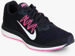36c8752edc Nike Air Zoom Winflo 5 Navy Blue Running Shoes for women - Get stylish shoes  for Every Women Online in India 2019