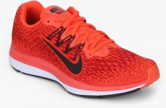 the best attitude 219aa 1195e Nike Air Zoom Winflo 5 Red Running Shoes women