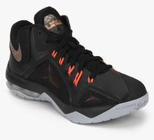 best website c1504 62e16 Nike Ambassador Vii Black Basketball Shoes men