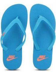 cbc7a4236a0e Nike Aquaswift Thong Blue Flip Flops for women - Get stylish shoes ...