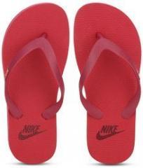 05b3c5e8dcc Nike Aquaswift Thong Red Flip Flops for women - Get stylish shoes ...