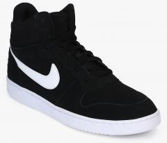 3bad16e73cbfb Nike Court Borough Mid Black Sneakers for Men online in India at Best price  on 21st July 2019, | PriceHunt