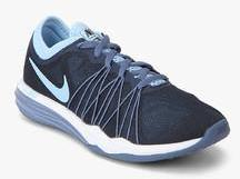 new concept 92640 dd32e Nike Dual Fusion Tr Hit Navy Blue Training Shoes for women - Get stylish  shoes for Every Women Online in India 2019   PriceHunt