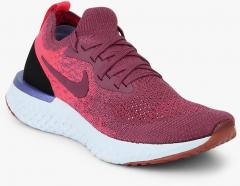4f7e2c87914 Nike Epic React Flyknit Mauve Running Shoes for women - Get stylish ...