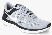 f2e6e2e7ab14 Nike Flex 2016 Rn Grey Running Shoes for Men online in India at Best ...