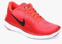 b22ea05c823ed Nike Flex 2017 Rn Pink Running Shoes for women - Get stylish shoes ...